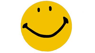 eerste smiley ooit, ontworpen door harvey ross ball